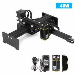 40w Mini Cnc Gravure Graveur Laser Gravure Machine Machine Desktop Printer Cutter Kit
