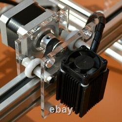 500mw DC 12v Bricolage Mini Gravure Laser Machine De Découpe Kit D'imprimante De Bureau
