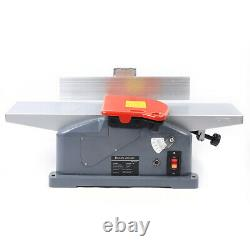 6 Jointers Woodworking Benchtop Jointer Planer Wood Cutting Machine + Poignée