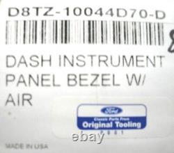 73 74 75 76 77 78 79 Ford Truck F150 F250 Wood Grain Dash Lunette Avec A/c (d)