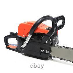 80cc 20 Gasoline Chainsaw Wood Cutting Chain Saw USA Stock