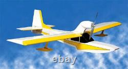 Aéronef Alien 42 Pouces Dragon Seaplan Laser Cut Balsa Wood Rc Airplan Kit