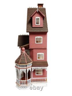 Ashley B Gothic Dolls House Milled Siding 148 1/4 Pouce Laser Cut Flat Pack Kit