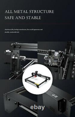 Atomstack A5 Graveur De Machine À Découper Au Laser 30w Carve Wood Leather Printer