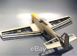 Avion Rc Laser Cut Balsa Construction Avion Kit P51 Avec Moteur 1000mm Nouveau