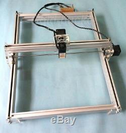 Bachin 40x50cm Mini Machine De Gravure Au Laser Imprimante Bois 500mw Découpe Logo Bricolage