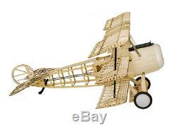 Balsa Modèle Avion Laser Cut Puissance Électrique Fokker Dri 1540mm Envergure