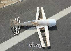 Balsa Wood Plane Laser Cut Airplane Kit Wingspan 1000mm Modèle 3d Pour Jouet Adulte