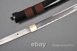 Battle Ready 1095 Steel Katana Japonais Samurai Sharp Practice Sword Cut Bamboo