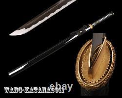 Battle Ready Sharp Ninjato 1095 Acier Japonais Ninja Practice Sword Cut Bamboo