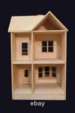 Belmont 1 Pouce Échelle Dollhouse Kit Laser Cut