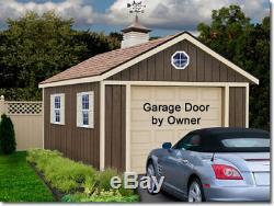 Best Granges Sierra 12x24 Bois Rangement Garage Garage Tous Pré-coupé