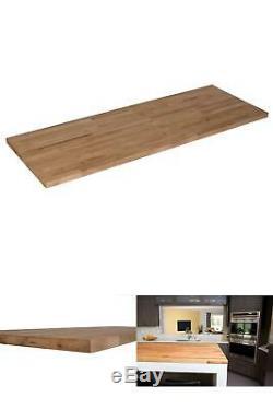 Bois Butcher Block Cuisine 50 X 25 Countertop X 1.5 Planche À Découper Unfinished Nouveau