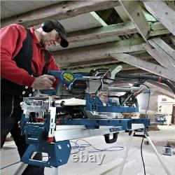 Bosch Gcm8sjl 8 240v Scie Mitre Coulissante Avec Guide De Coupe Laser -inclut La Lame