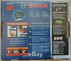 Bosch Jsh180b 18 Volts 3-1 / 2 Pouces Profondeur De Coupe Sans Fil Jigsaw Outil Nu Nouveau