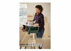 Brand New 1200w Parkside Table Portable Saw Divers Angle De Coupe De 45 °. 14kgcorded