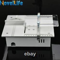 Bricolage Mini Table Circulaire De Travail De La Scie De Lame De Banc De Coupe Machine D'outil