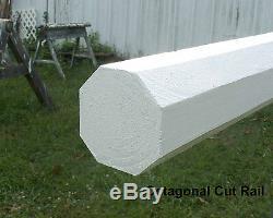 Cheval Sauts 12ft Bundle / 6 Half & Half Cut Rails En Bois Choix De Couleurs