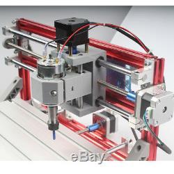 Cnc 3018 3axis Gravure Routeur Bois Acrylique Sculpture Machine De Bricolage De Fraisage