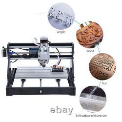 Cnc3018 Pro Gravure Laser Machine Gravure & Mouture Imprimante Coupe Bricolage En Bois