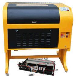 Co2 Gravure Au Laser Machine De Découpe Laser 60w Tube Et Simple Tourne-cylindre
