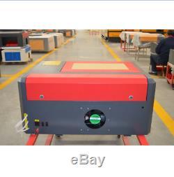 Co2 Machine De Gravure Laser De Coupe 4040 50w 400400mm Pour L'acrylique En Cuir Bois