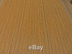 Composite Plaqué Bois De Teck 48 X 120 Indien De Renfort En Papier 1/40 D'épaisseur