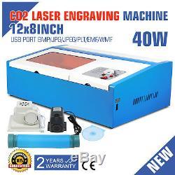 Coupeur En Bois De Graveur De Graveur De Découpeuse De Découpage Au Laser De Haute Précision 40w Usb Usb