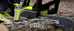 Cut Compact Sans Fil Chainsaw Main Bois Outil One + 10 Bar 18 Volt Lithium-ion