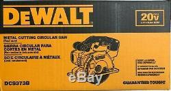 Dewalt Dcs373b 20 Volts Circulaire Coupe Scie À Métaux Neuf Dans La Boîte