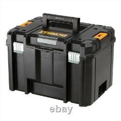 Dewalt Dws520kt Plunge Circulaire Cut Saw 165mm 110v Dws520k + Tstak Hard Case