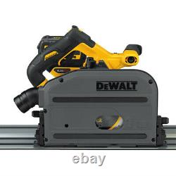 Dewalt Flexvolt 60v Max 4 000 RPM 6-1/2. Cordless Tracksaw Kit Dcs520t1 Nouveau