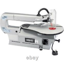 Draper Tilting Fret Saw 400mm Scroll Saw 15mm 85w Wood Cutting Table Saw