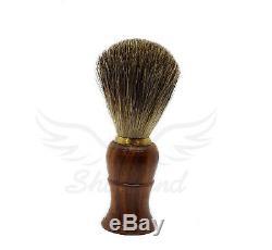 Droite Kit Rasoir Wood Cut Throat 4 Pc Hommes Luxe Coffret USA Vendeur