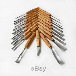 Ensemble D'outils De Sculpture Sur Bois Pour La Sculpture En Relief, Le Scrabbling Après La Découpe D'outils