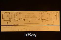 Ensemble De Plans Courts, Plans Et Instr. Royal Beechcraft Baron 58p Royal À L'échelle 1/6 70.5ws