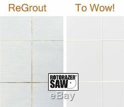 Ensemble De Scie Circulaire Compacte Officielle Rotorazer - Projets De Bricolage - Couper Les Murs En Cloison Sèche, Carrelage