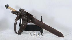 Épée À La Main De Conan Destroyer 1095 Acier Forte Lame Forte Coupe Lourde