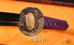 Épée De Samourai Japonais De Haute Qualité Katana Lame Complète Pleine Longueur Peut Couper Bamoo