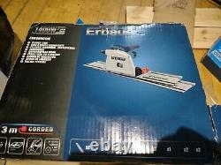 Erbauer 1400w 220-240v 185mm Corded Plunge Scie Erb690csw Splinter Free Cuts