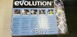 Evolution 180hd 7 1/4 Circulaire De Coupe En Métal Scie Withcase & Blade Evosaw180hd