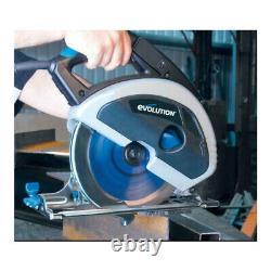 Evolution Evosaw230 Scie Circulaire De Coupe Métallique Avec Lame De 9 Pouces