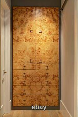 Exotic Mappa Burl Wood Placage Paper Back Rotary Cut 2' X 4' (24 X 48)