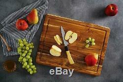 Extra Large Conseil En Bois De Teck De Coupe 17,8 X 14 Pour Us Stock Cuisine-