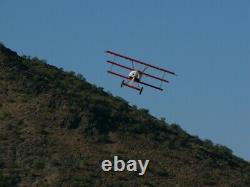 Fokker Dr. I 1/6 Scale Flyboys Version Laser Cut Kit With Real Aluminum Cowl