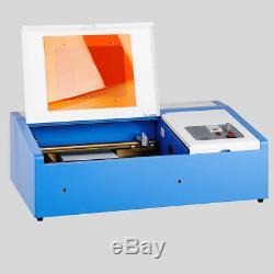 Graveur Et Découpeuse De Laser De 40w Usb Graveur Et Coupeur De Machine De Coupe Avec Le Ventilateur