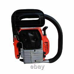 Heavy Duty 20 52cc Chainsaw Wood Cutting Saw Cutter Two Stroke Petrol Engine Royaume-uni
