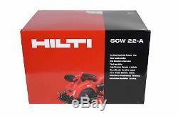 Hilti Scw 22-a Outil De Coupe Pour Scie Circulaire Sans Fil Compact (outil Nu)