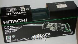 Hitachi Cr13vby 12 Amp Low Vibration Scie Alternative Mettant En Vedette (uvp) Technolo