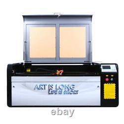 Hl 80w Découpe Laser Machine De Gravure Laser Ruida 1060 Engraver Bûcheron